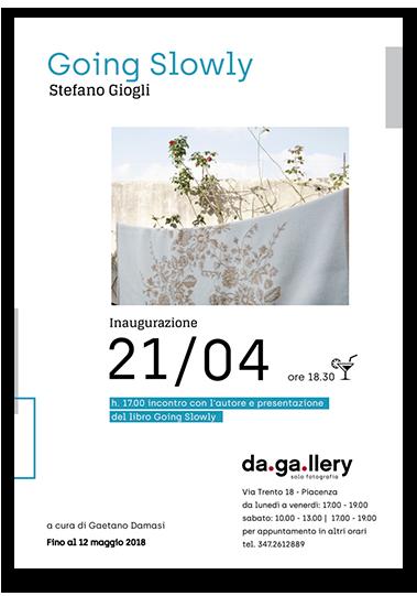 Locandina mostra da.ga.llery Piacenza